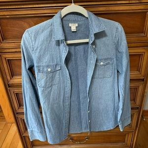 J.CREW | denim shirt